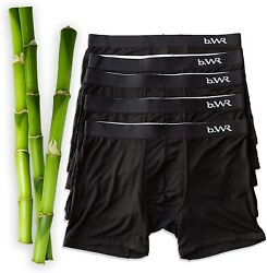 Bamboo Underwear Men - 3 Or 5 Pack - Bamboo Boxer Briefs - Bamboo Boxers - B.wr