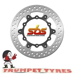 Yamaha Wr 250 F Efi 2015 - 2016 Sbs Front Brake Disc Genuine Oe Quality 5085