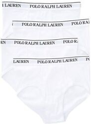 Polo Menand039s Classic Fit W/wicking 4-pack Briefs