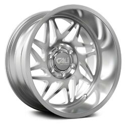 Cali Off-road Gemini 9113 20x12 6x135 Et-51 Brushed And Clear Coated Qty Of 4