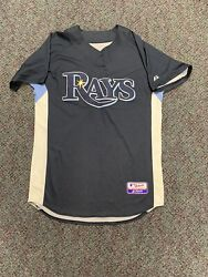 Tampa Bay Devil Rays Authentic Cool Base 44 On Field Authentic Mlb Baseball