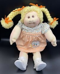 Original 1978 The Little People - Xavier Roberts Soft Cabbage Patch Blonde Girl
