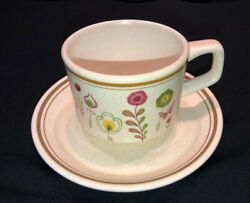 Temper-ware By Lenox Sprite - 1 Cup And Saucer Set - Vintage