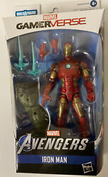 Marvel Legends IRON MAN AVENGERS GAMERVERSE ABOMINATION BAF SERIES MISB