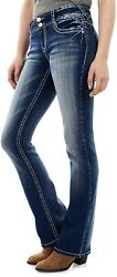Wallflower Womenand039s Instastretch Luscious Curvy Bootcut Jeans