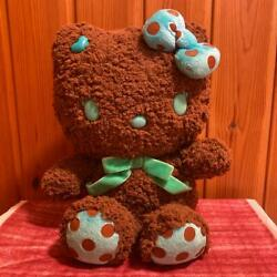 Momoberry Rich And Sweet Hello Kitty Plush Doll Brown Sanrio Antique Rare