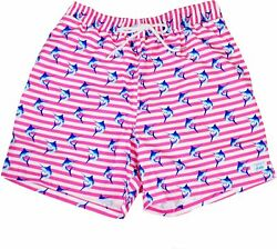 Bald Head Blues Swim Trunks - Performance Poly Fabric Bathing Suits For Men