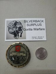 7th Special Forces Group- A Charlie Company 3rd Battalion Nous Defions Coin 006