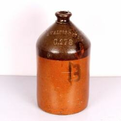 Vintage Ceramic Bottle Big Beautiful Useful And Collectible Rare 2268