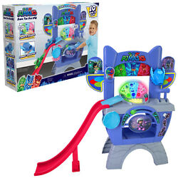 Pj Masks Headquarters Hq Save The Day Playset Lights Sounds Kids Toys Ages 3+