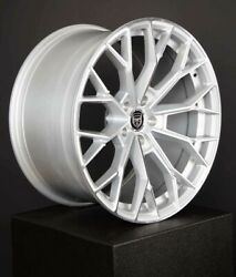 4 Hp3 20 Inch Staggered Silver Rims Fits Jeep Grand Cherokee Limited 2014 - 2020