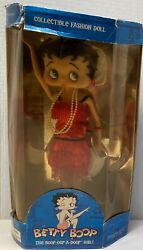 Betty Boop Collectible Fashion Doll - The Boop A Doop Girl - With Stand