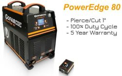 80amps Plasma Cutter Poweredge80 220v Cnc Table Ready-100 Duty Cycle @ 80amps