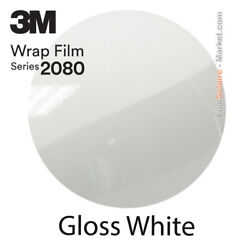Gloss White 3m 2080 G10 New Series Car Wrapping Total Covering Vinyle Film