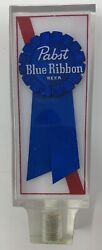 Pabst Blue Ribbon Lucite Beer Tap Handle - New Old Stock - Free Shipping
