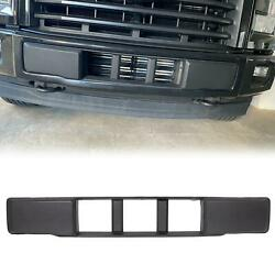For 2015-2017 Ford F150 Front Bumper Cover Lower Grille Trim Panel Black Plastic