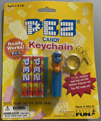 Vintage 1999 New In Package Pez Candy Keychain Horse New Sealed 931-0