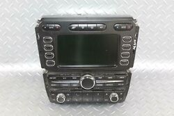 03-10 Continental 4dr Navigation Gps Stereo Radio Assembly Climate Control Oem