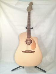 Fender Redondo Player-acoustic Electric Guitar-new-display Model Discounted