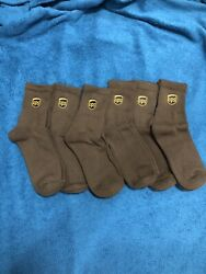 Ups Socks 6 Pairs Anklet Lenght Brand New Size L 11-13