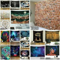 USA Psychedelic Tapestry Art Wall Hanging Tapestries Throw Background Decor