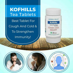 Herbal Hills Kofhills Supports Immunity Natural Remedy To Cure Cough 30 Tablets