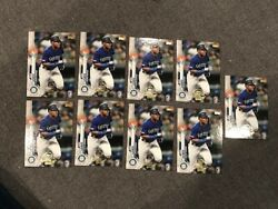 Lot 9 Kyle Lewis 2020 Topps Chrome Topps Update Preview Rookie Cards Mariners