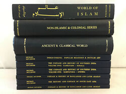 Oriental Coins And Their Values By Michael Mitchiner Hardcover Lot Of 9 Books