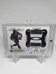 2019 Dk Metcalf Flawless Rpa Cleat Under Armour Patch Rookie Auto 5/5 True Rpa