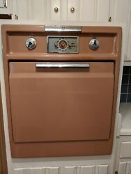 C.1957 General Electric Wall Oven Vintage