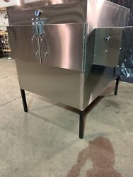 """Semo Smokers Llc 48""""x48"""" Insulated Rotisserie Smoker Ask About Nsf Model"""
