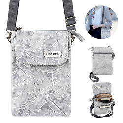 Women Small Cross body Cell Phone Case Shoulder Bag Purse Pouch Handbag Wallet $9.98