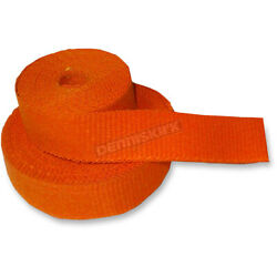 Cycle Performance Orange Exhaust Pipe Wrap - Cpp/9062-50