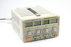 Sinometer Dc Regulated Power Supply Hy3003d-3 Triple Output 0-30v 0-3a 5v/3a