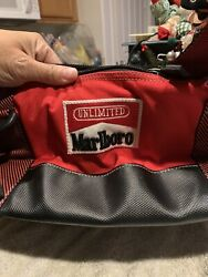 Vintage Never Used Marlboro Unlimited Gear Insulated Cooler Bag W/ Duffel Strap