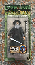 Gandalf The Grey With Light-up Staff Lord Of The Rings Toy Biz Action Figure
