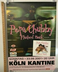 Papa Chubby Flashed Back Tour Poster 2001 In Koln @ Kantine Classic Rock