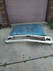1970-1972 Used Gmc Pickup Grill And Hood
