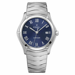 Ebel Menand039s Sport Classic 40mm Steel Bracelet And Case Automatic Watch 1216456a