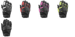 Speed amp; Strength Backlash Women#x27;s Leather Mesh Motorcycle Gloves $39.95