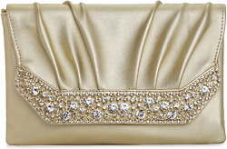 Evening Clutches Bags for Women Envelope Clutch Wedding Purses With Chain Cross $16.09