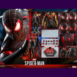 Pre Hot Toys 1/6 Spider-man Miles Morales 12and039and039 Male Figure Vgm46 Soldier Model