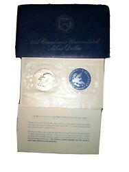 1974 S Eisenhower Uncirculated Blue Pack 40 Silver Ike Dollar.