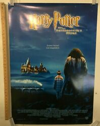 Harry Potter And The Philosophers Stone Original Promo Poster Rare One Sheet Ss