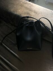 MANSUR GAVRIEL Mini Mini Bucket Bag Black $200.00