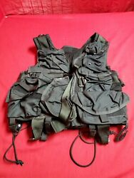 Aws Medical Vest Breathable Military Army Molle Combat Black