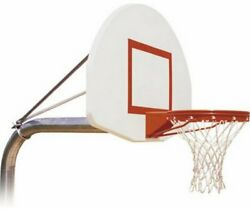 First Team Ruffneck Max In-ground Basketball Hoop With 54 Inch Aluminum