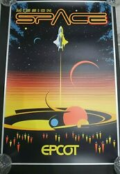 Disney Parks Epcot Mission Space Serigraph Poster 57/100 Limited Edition