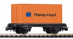 Starter Set - 57022 - Piko Mytrain Flatcar W Container