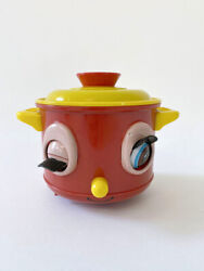 ⭕ 70s Vintage Modern Toys Cute Pot Toy Japanese Antique Fisher Price Retro 50s